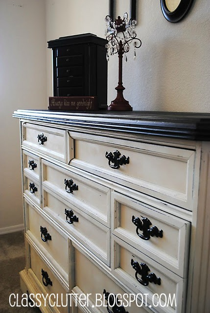 4 fun furniture painting techniques classy clutter Best color to paint dresser