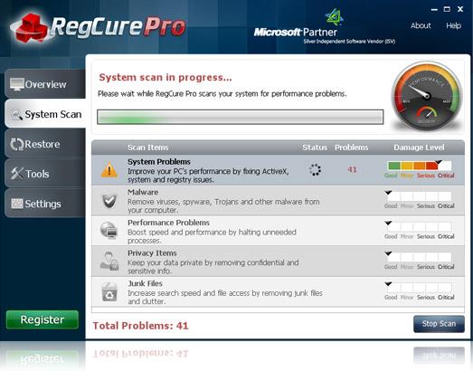 Cкачать торрент ParetoLogic RegCure Pro 3.1.3.0 2012, ENG бесплатно (magnet