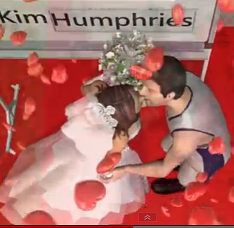 Bridal Dress on Kim Kardashian S Wedding Cake Topper   Prom Dress 2011