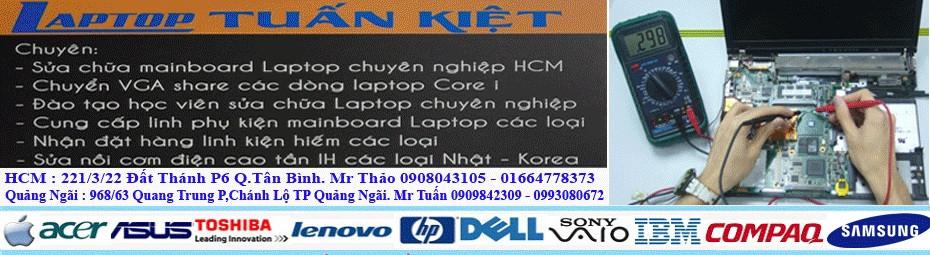 Sửa Laptop Tuấn Kiệt