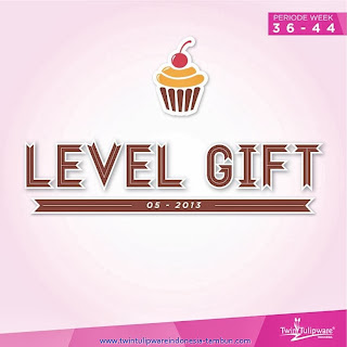 Level Gift Tulipware Cover | September - Oktober 2013