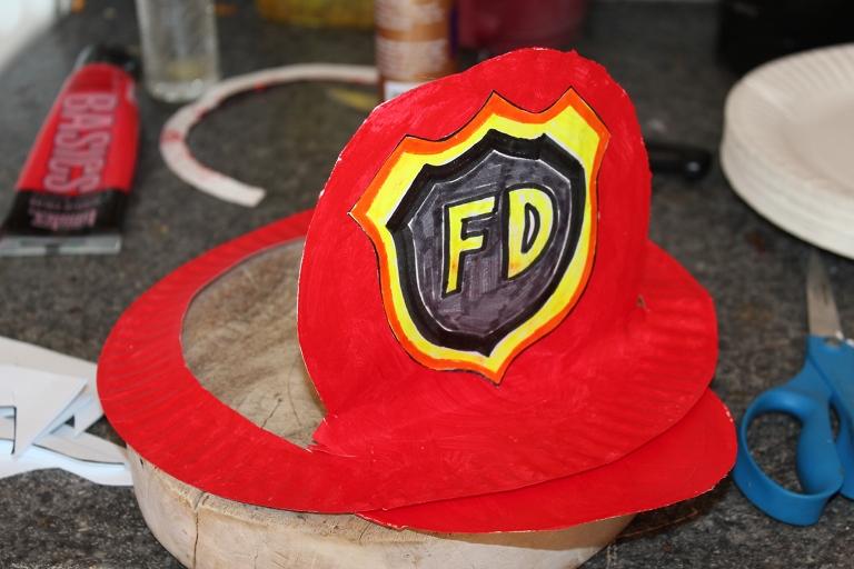 Fireman\'s Hat   Creative Learning