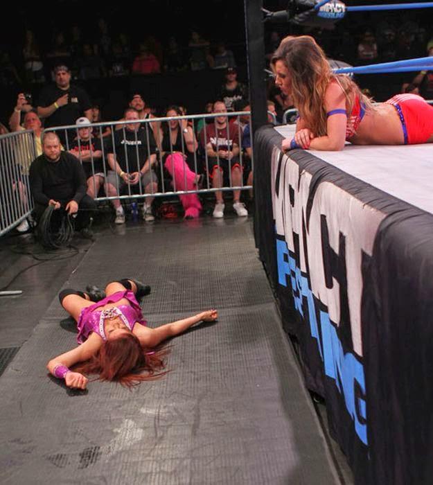Brittany, brittany tna wrestling, female wrestling