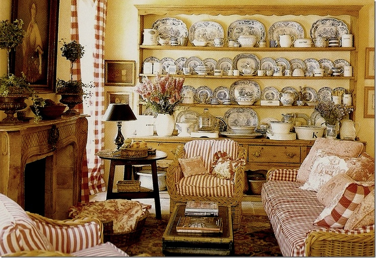 Charles Faudree French Country Decorating: DWELLINGS-The Heart Of Your Home