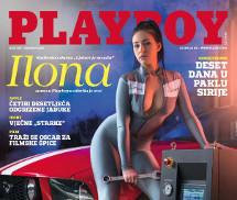 Ilona Kondic Playboy Croácia Abril 2016