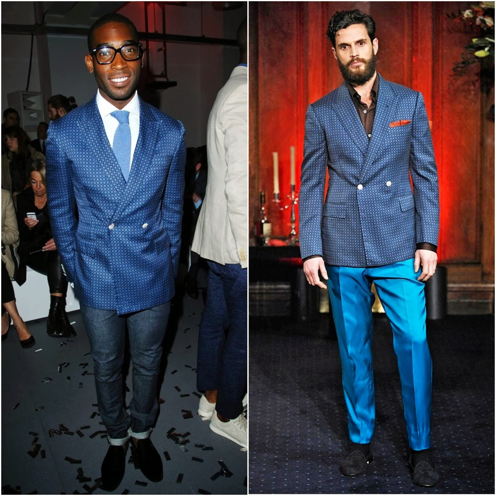 Tinie Tempah in RAKE - London Collections: Men FW2014 Day 2 #LCM