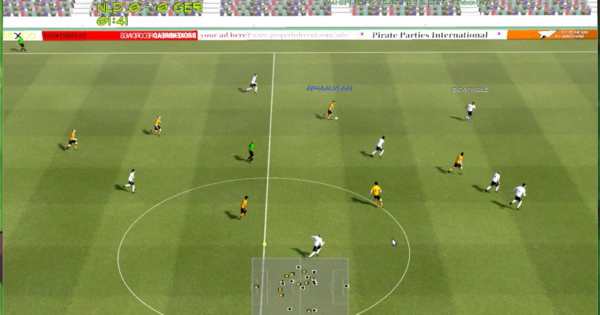 Gameplay Football A 3d Soccer Game For Linux Ubuntu Vibes