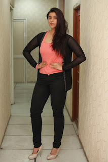 Tollywood Actress Barbie Handa Latest Picture Gallery in Black Jeans  5