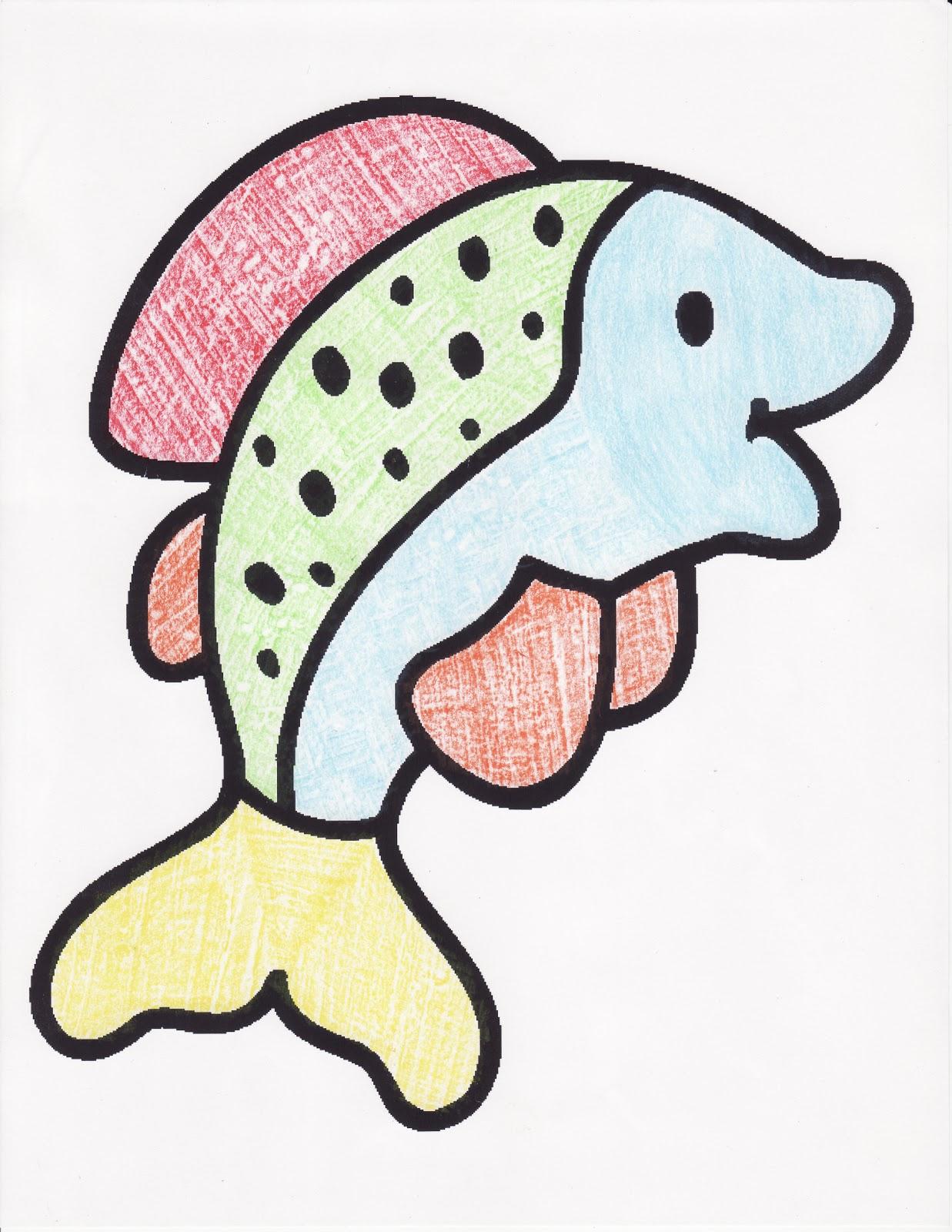 Conejo Pirata: Mis proyectos pintados con crayolas