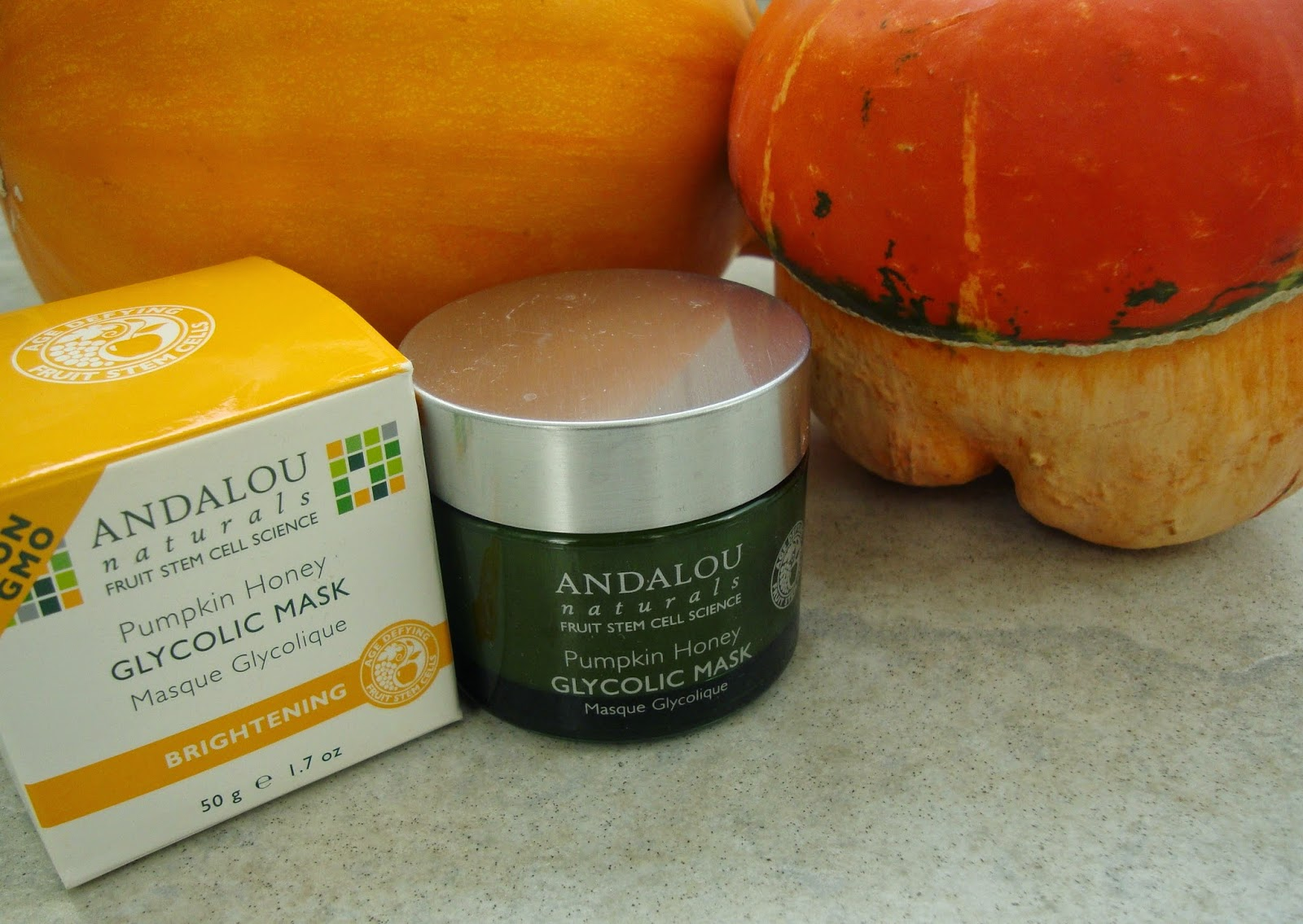 Andalou Naturals Glycolic Mask Pumpkin Honey Brightening