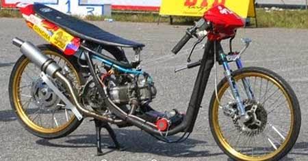 gambar drag motor mio