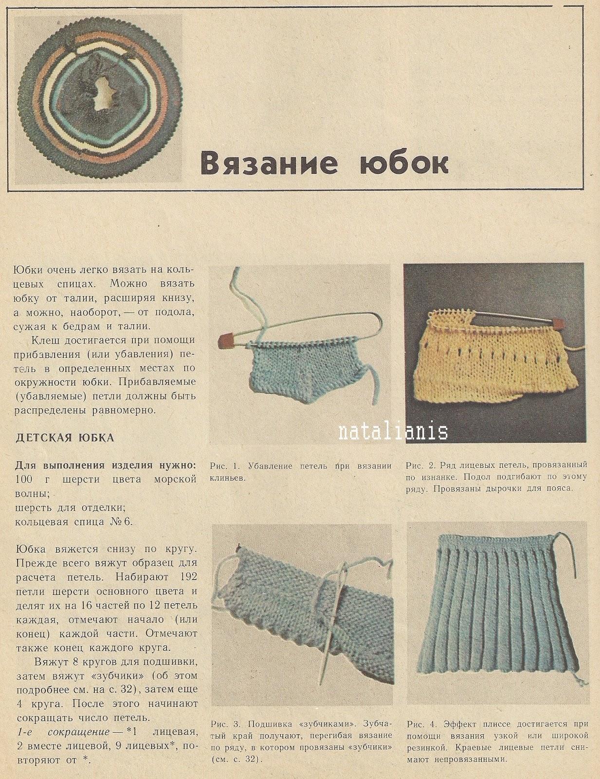 Вязанные украшения