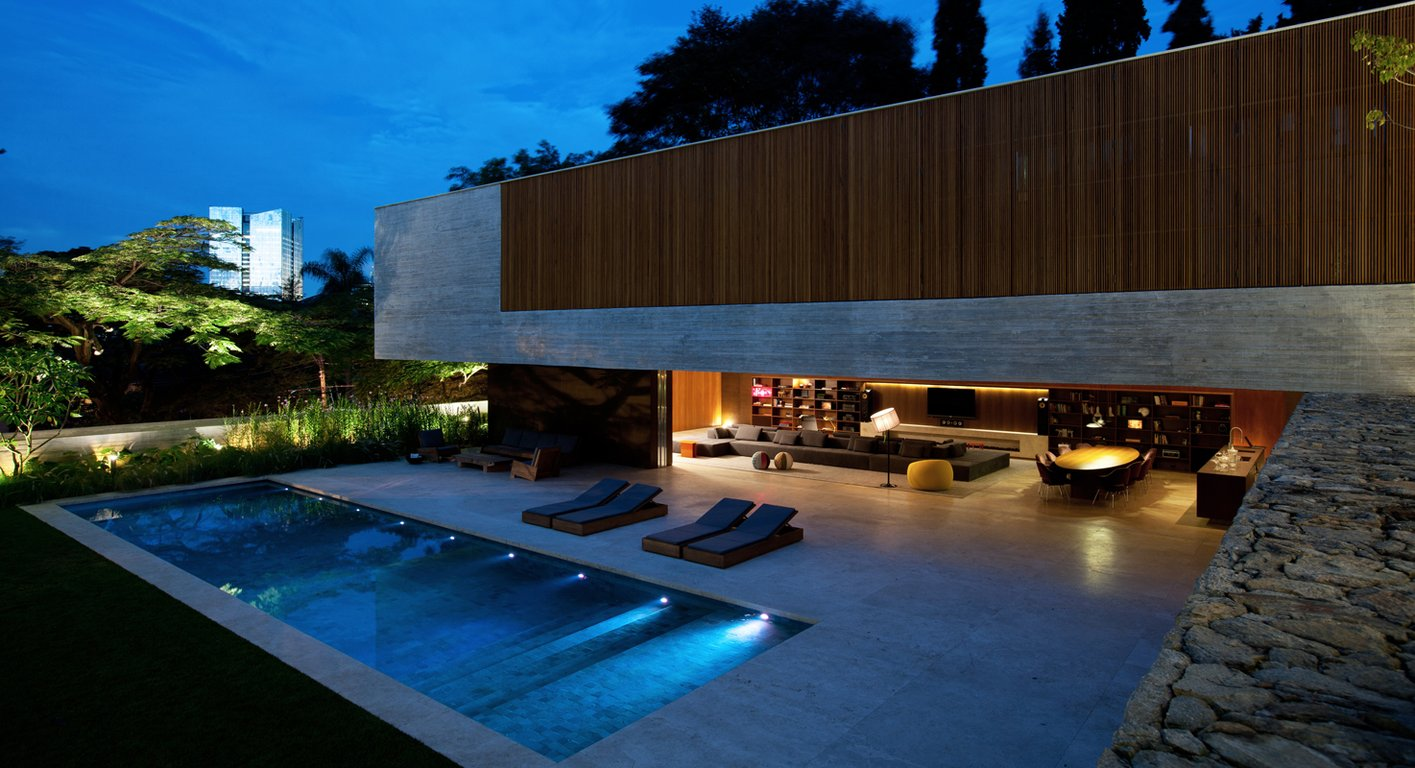Lovely Ipes House By Marcio Kogan. Good Ideas