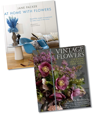 jane packer At home with flowers, Vic brotherson vintage flowers