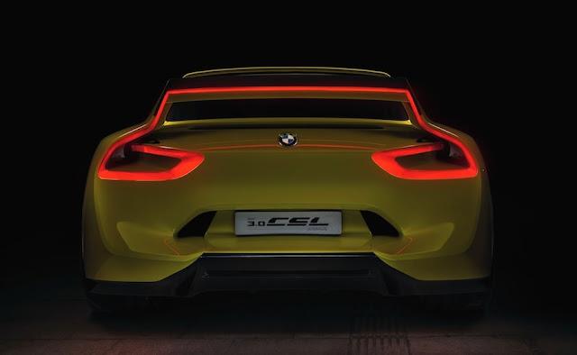 BMW 3.0CSLオマージュ OLEDテールライト