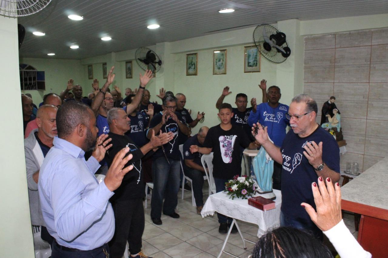 TERÇO NA CAPELA SÃO CAMILO DE LÉLIS EM 15/07/2019