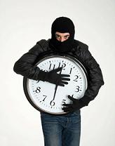 No se puede restituir el tiempo robado
