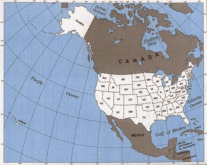 The USA Bought Alaska From Russia For An Acre Information In - Us map after sewards folly