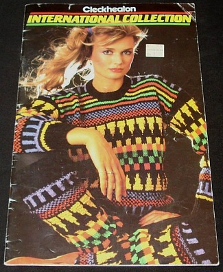 1980s Multi-coloured Pattern Jumper with Matching Leg Wamers