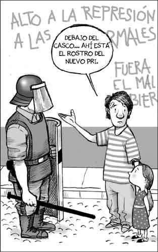 PRI policía