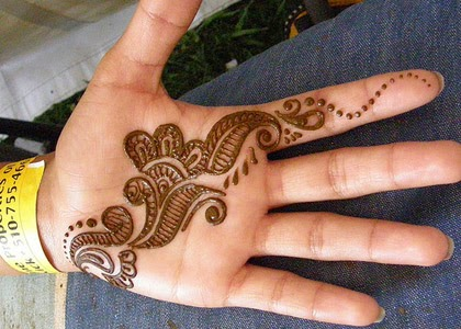 Mehndi Easy Design : Easy mehndi designs apply of on hands b