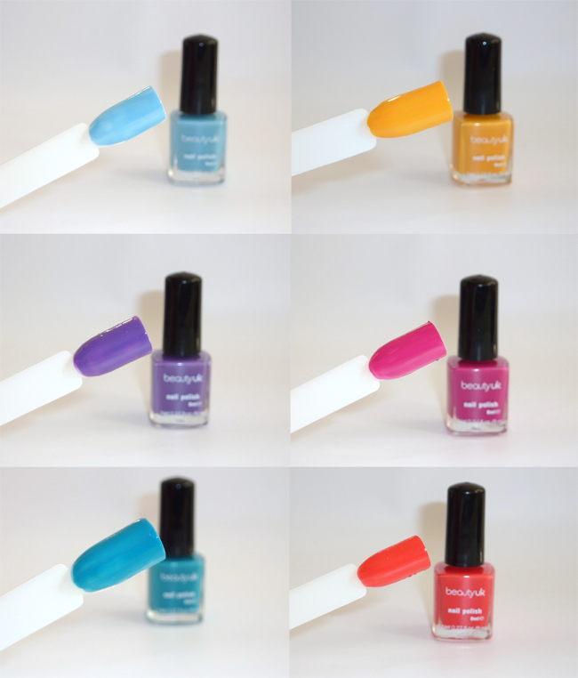 Sophie Jenner: BEAUTY UK NEW NAIL POLISH REVIEW & SWATCHES