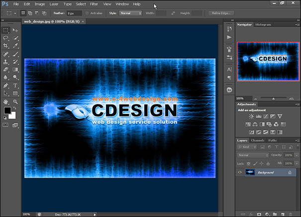 Merubah Warna Theme Interface Photoshop CS6