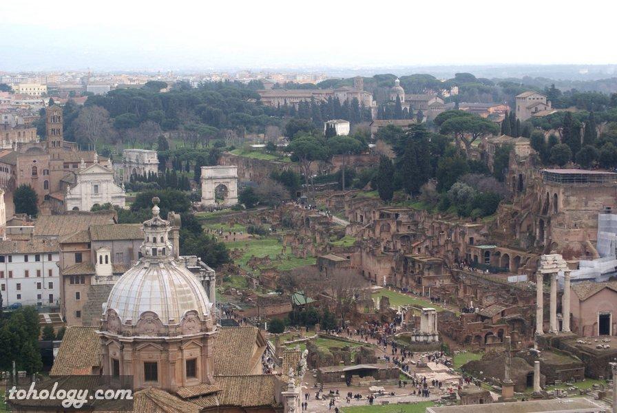 The Imperial Fora in Rome Императорские форумы в Риме
