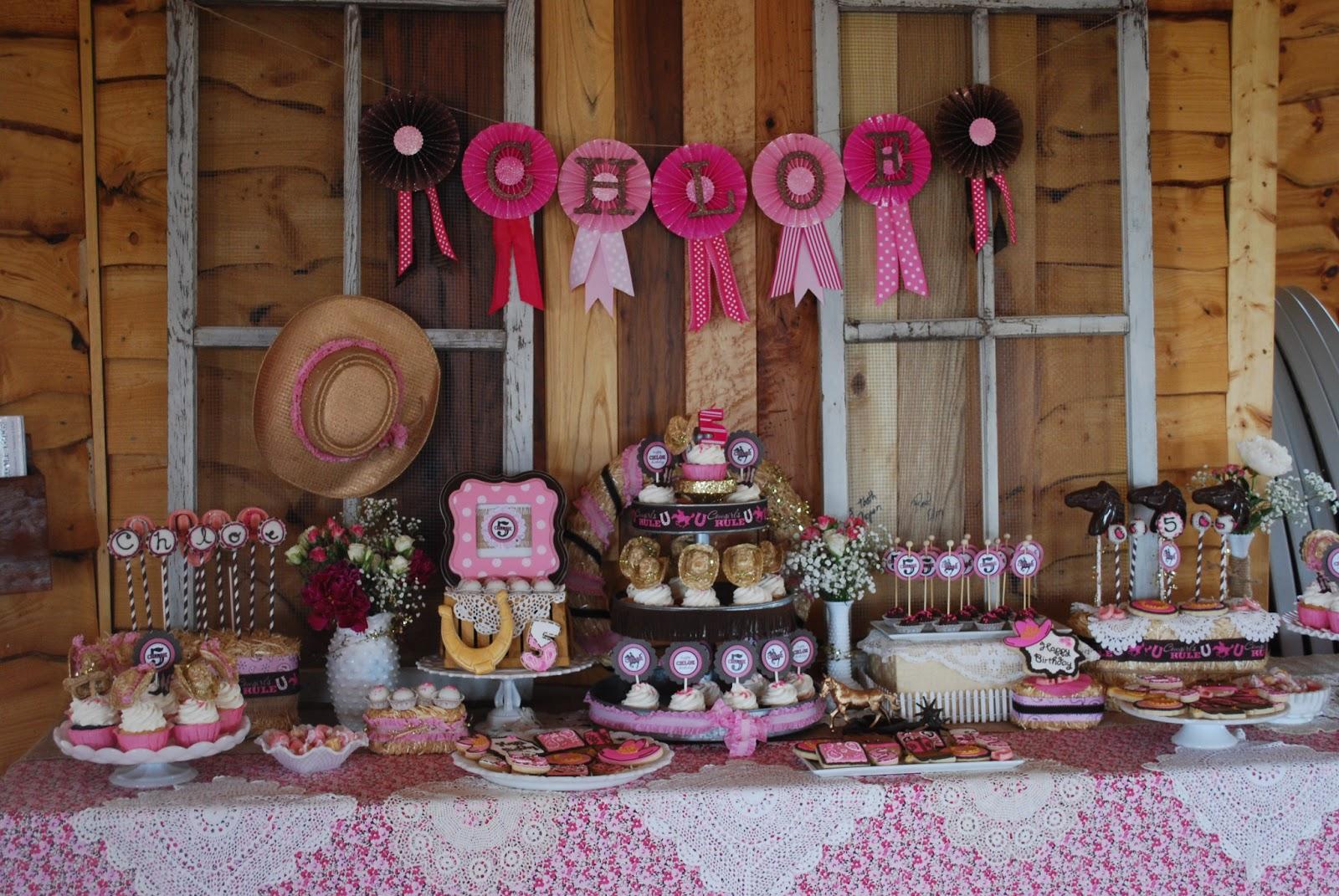 Cowgirl Birthday Decorations Similiar Cowgirl Party Ideas For Girls Keywords