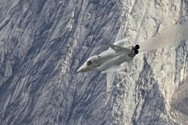 Swiss f-5 heat distortion
