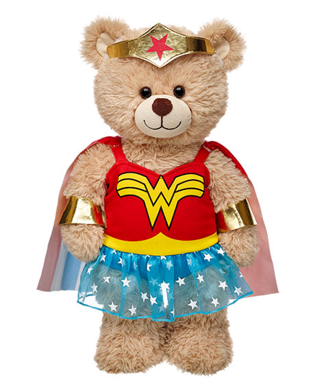 As a special promo for the new Batman v Superman movie Build a bear is selling wonder woman cosplay for the bears. Along side the older wonder woman costume ...  sc 1 st  Movie time!!! & Movie time!!!: Build A Bear