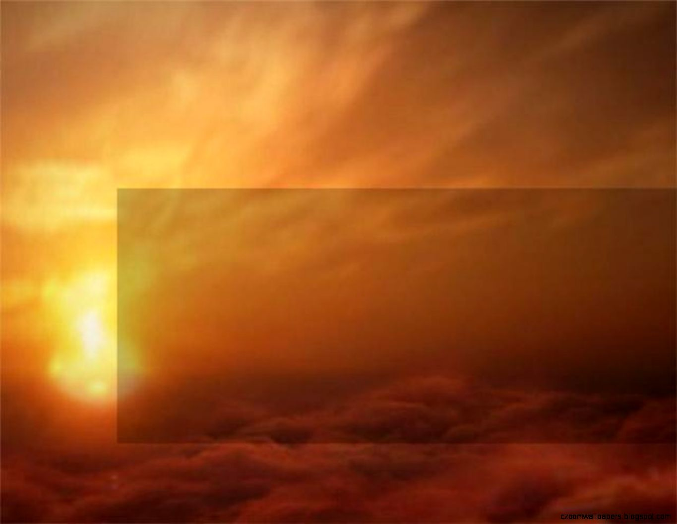 sunset powerpoint background | zoom wallpapers, Powerpoint templates