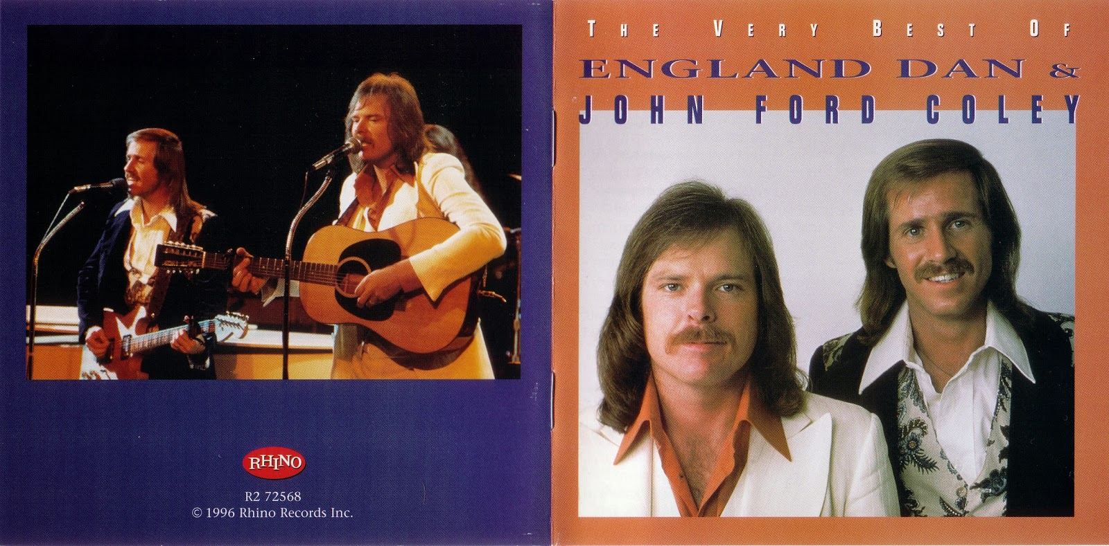 England dan john ford coley the very best of