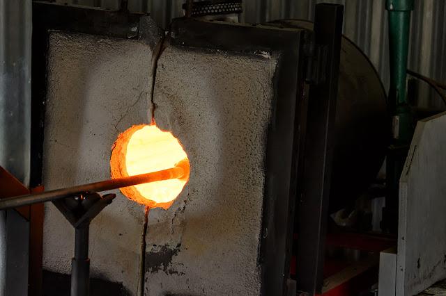 Garden City Glassworks in Skagway, Alaska