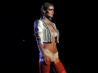 Edita Vilkeviciute Etam Live Lingerie Show FW 2013 Paris