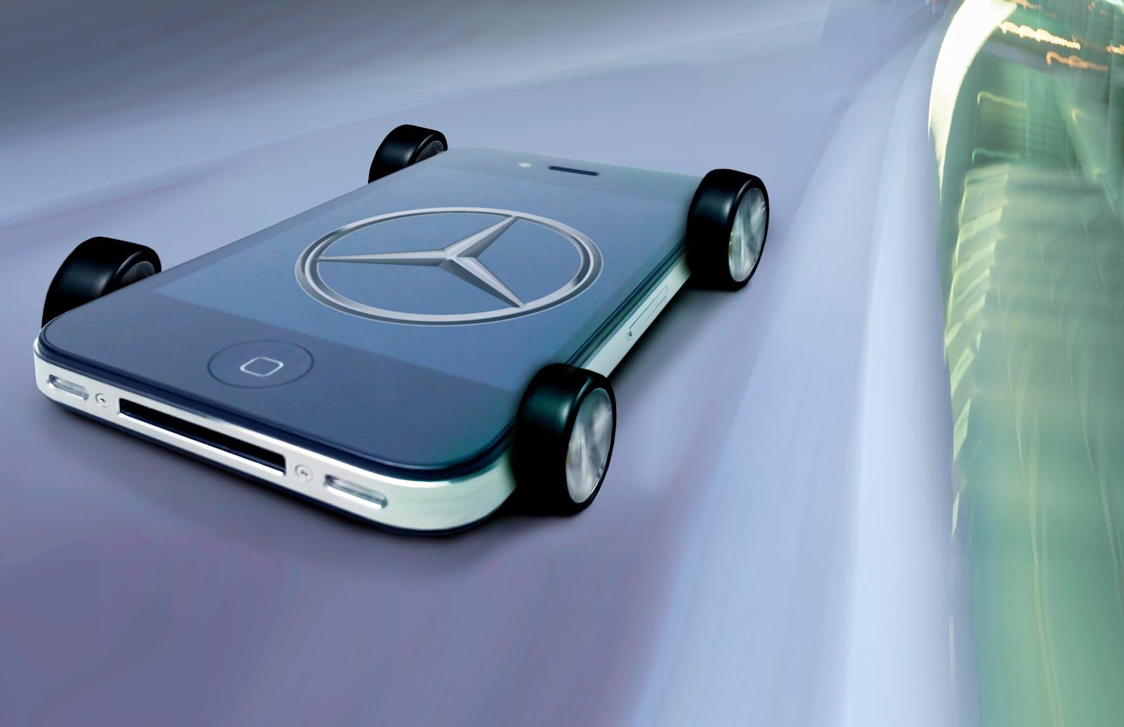 Voiture du futur mercedes veut faire de ses voitures des smartphones sur 4 roues - Comment sera le futur ...