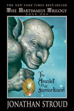 The cover of The Amulet of Samarkand