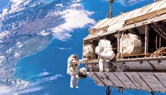 Dua Astronot Siap untuk Spacewalk di Luar Angkasa Besok