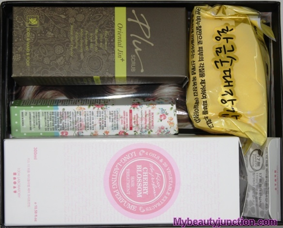 Memebox Hair and Body beauty box review, unboxing
