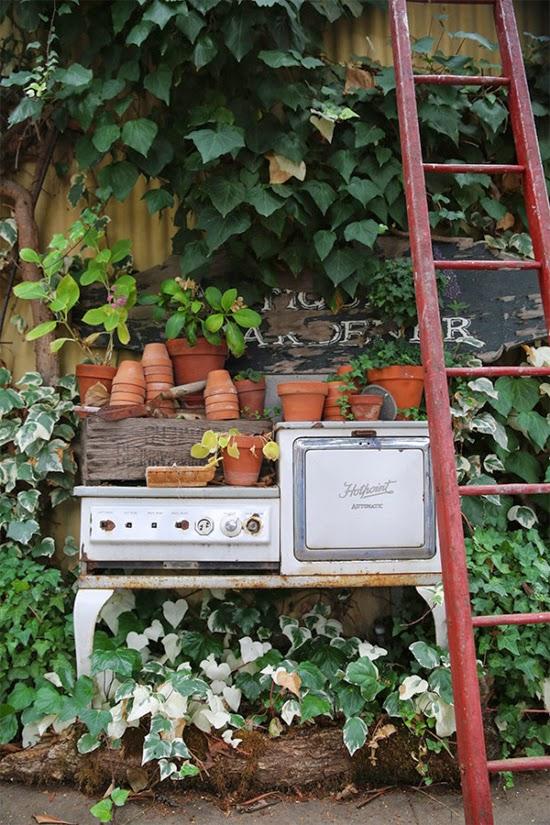 jardim vintage