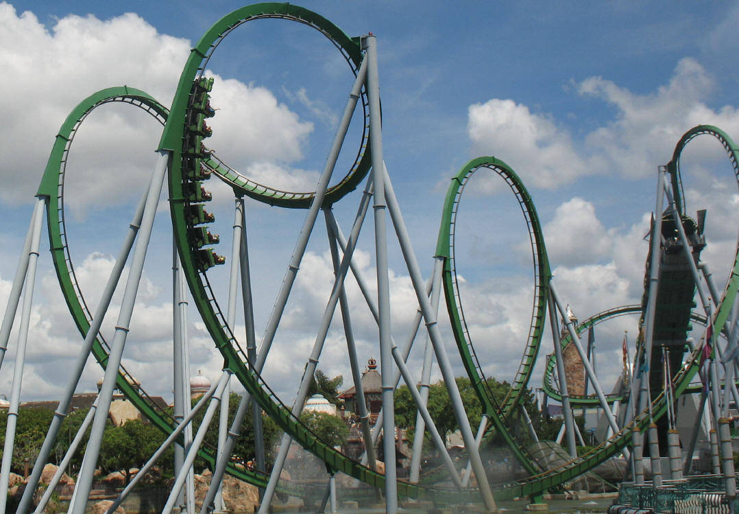 Harry potter roller coaster - photo#22