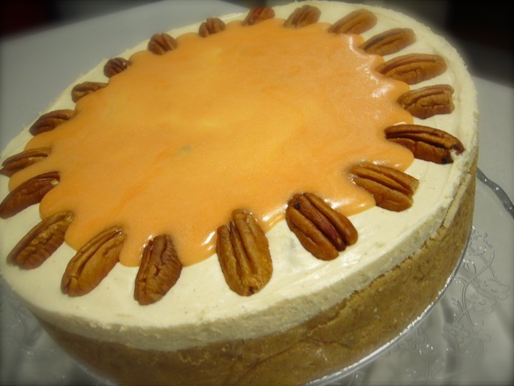 Helena's Kitchen: Caramel Apple Cheesecake