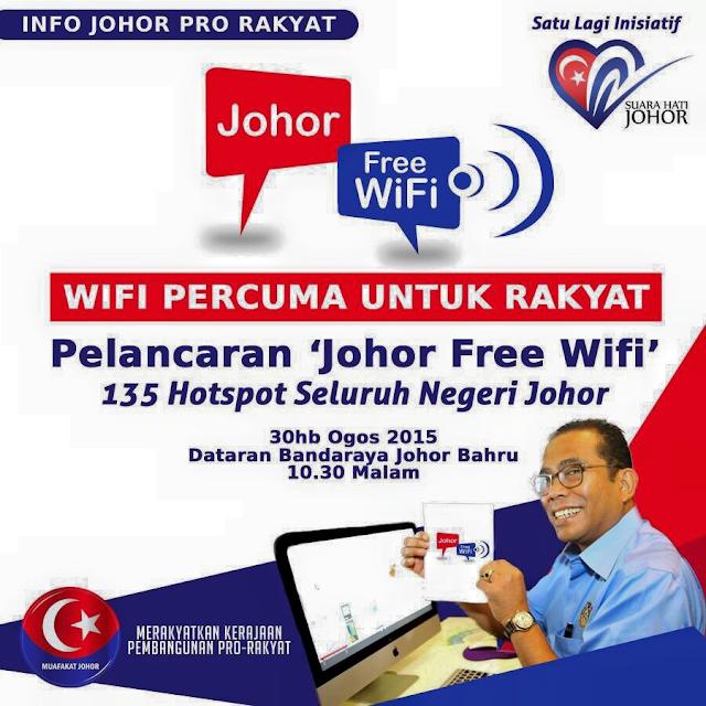 """Johor Free Wifi"""