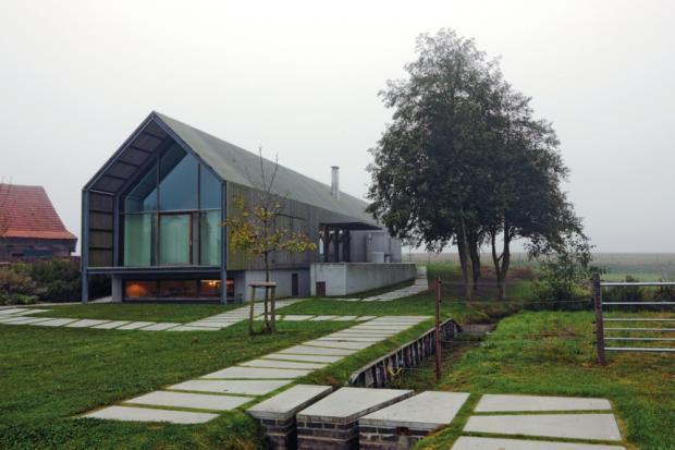 Moderna casa de campo todo sobre fachadas for Casas modernas de campo