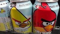 Sekarang sudah ada minuman soda angry birds