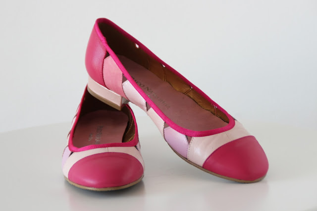 pink pretty ballerinas