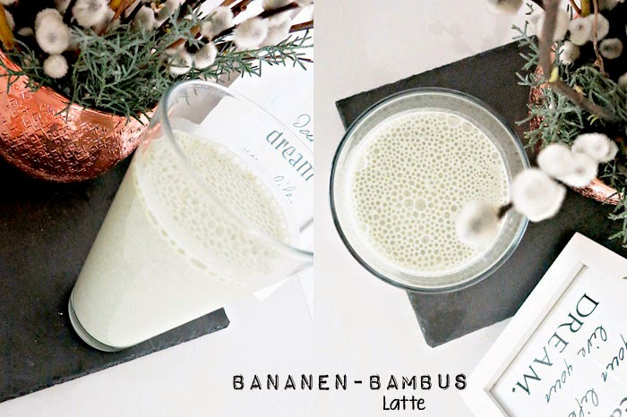 Bananen Bambus Latte