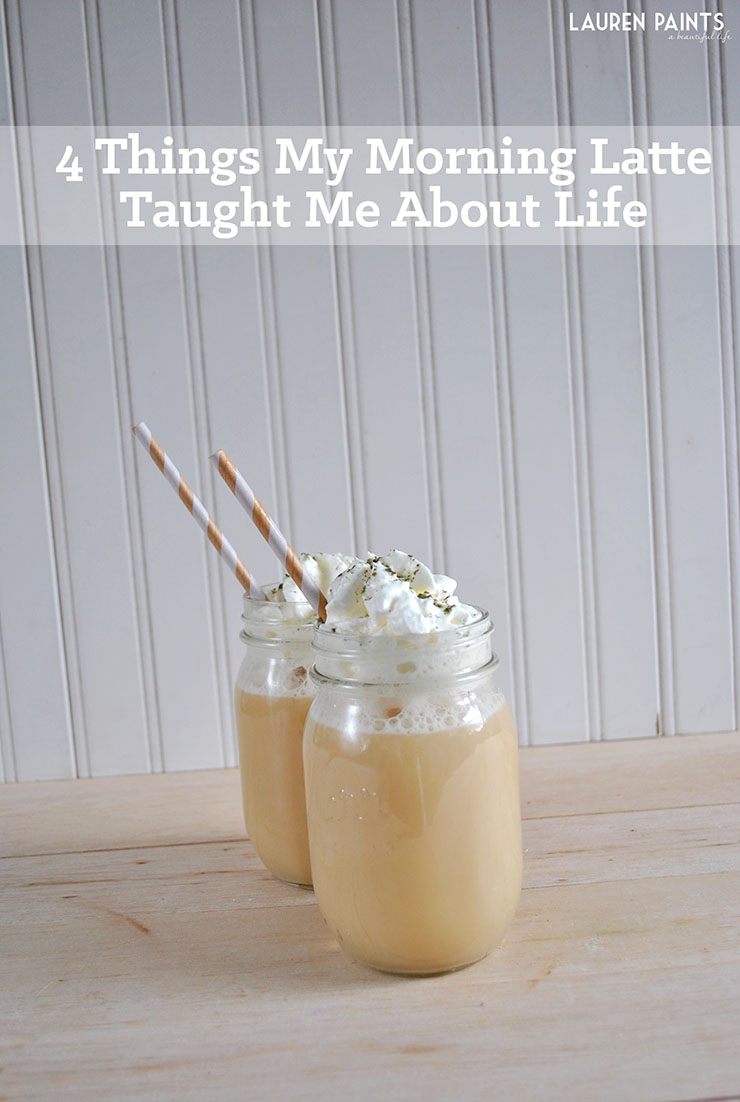 4 Things My Morning Latte Taught Me About Life + A Creamy Coconut Dream Green Tea Latte Recipe with Bigelow Tea