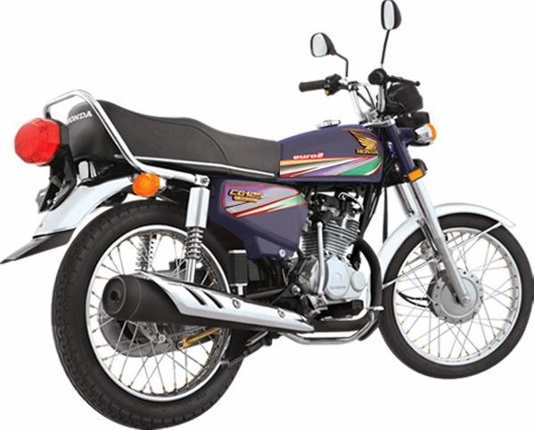 Honda CG 125cc Blue Color Price, Specs in pakistan