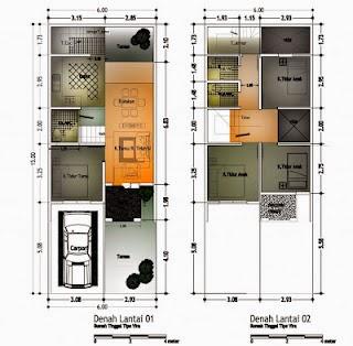 Desain rumah minimalis 10 x 12 meter